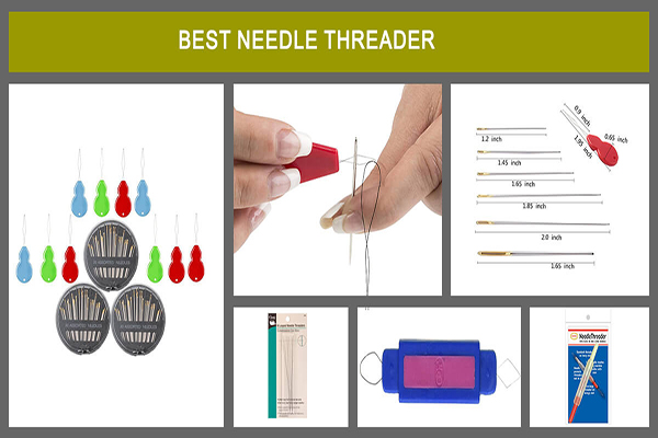 Dritz 252 Looped Needle or Bead Threaders 6 per Package